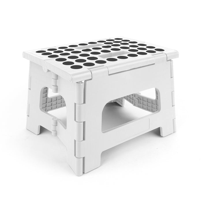 Rhino II Step Stool + White