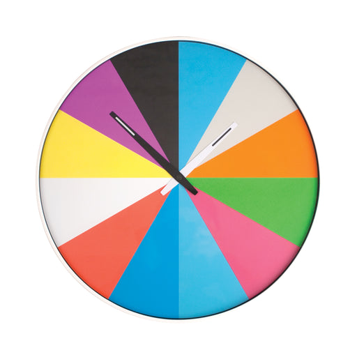 Wall Clock + Ultra Flat Multi Color