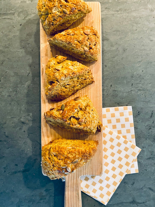 Finding some sweetness with delicious pumpkin scones