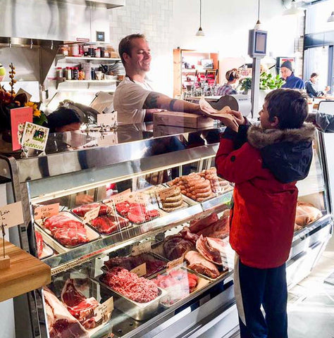 Picture of a Lowry Hill Meats, a butcher shop in Minneapolis, MInnesota