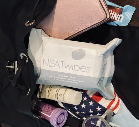 NEATwipes 30-Count Pouch