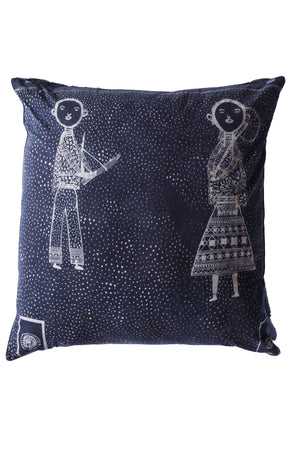1: L-Les Enfants Pillow Case