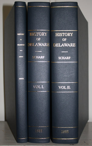 History of Delaware by Thomas J. Scharf