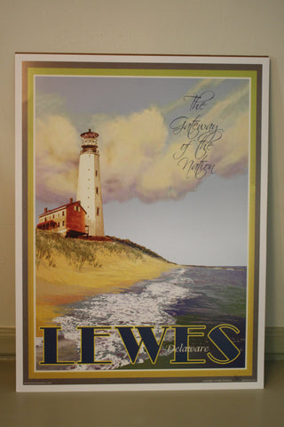 Lewes Lighthouse Poster