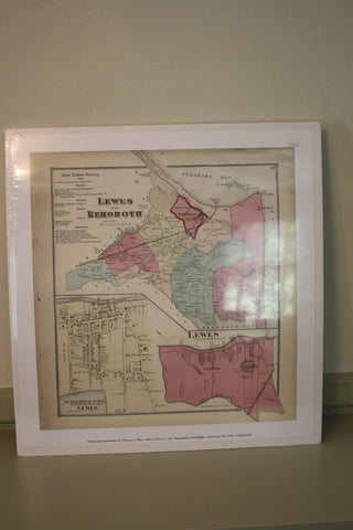 Lewes and Rehoboth Map