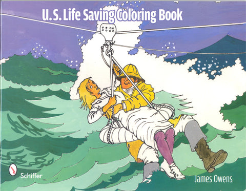 U.S. Life-Saving Coloring Book