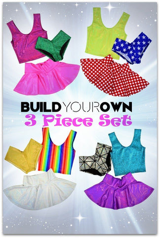 Build Your Own 3PC Set - Coquetry Clothing