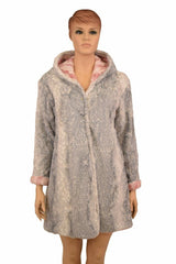 Reversible Minky A Line Coat - Coquetry Clothing