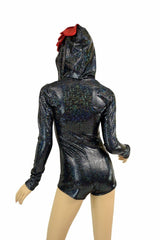 Chicken Hoodie Romper - Coquetry Clothing