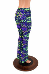 Neon Melt Boot Cut Leggings - Coquetry Clothing