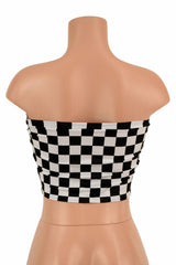 Black & White Tube Top - Coquetry Clothing