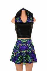 2PC Racerback Top & Skirt Set - Coquetry Clothing