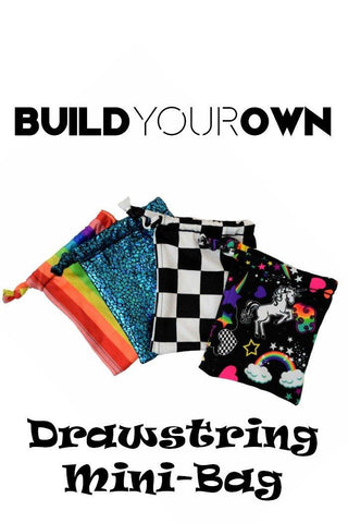 Build Your Own Drawstring Mini Bag - Coquetry Clothing