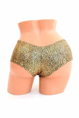 Gold/Black Shattered Glass Cheekies - Coquetry Clothing