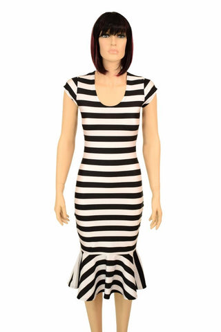 ae3df91277d Black   White Wiggle Dress – Coquetry Clothing