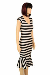 cdd3c9fe598 ... Black   White Wiggle Dress - Coquetry Clothing ...