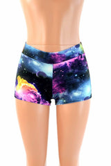 Galaxy Mid Rise Shorts - Coquetry Clothing