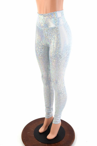 Frostbite High Waist Leggings - Coquetry Clothing