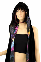 Reversible Hooded Racerback Duster - Coquetry Clothing