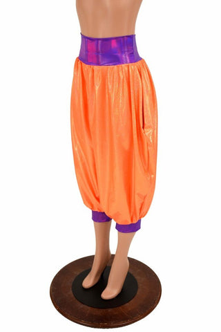 """Michael"" Pants in Orange & Grape - Coquetry Clothing"