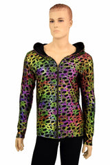 Mens Poisonous Print Long Sleeve Hoodie - Coquetry Clothing