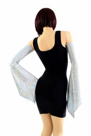 Frostbite Shattered Glass Pixie Arm Warmer Sleeves - Coquetry Clothing