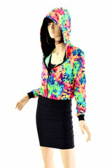 """Kimberly"" Jacket in Acid Splash - Coquetry Clothing"