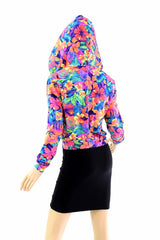 """Kimberly"" Jacket in Tahitian Floral - Coquetry Clothing"