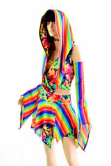 Weekender III Pixie Edition in Rainbow & Acid Splash - Coquetry Clothing