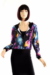 """Kimberly"" Jacket in Galaxy - Coquetry Clothing"