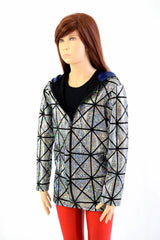 Kids Cracked Tile Long Sleeve Jacket - Coquetry Clothing