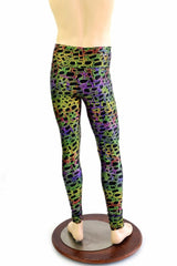 Mens Leggings in Poisonous - Coquetry Clothing