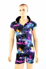Mens Galaxy Romper with Zipper - Coquetry Clothing