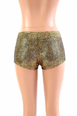 Shattered Glass Lowrise Shorts - Coquetry Clothing