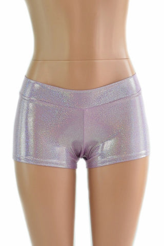 Lilac Lowrise Shorts - Coquetry Clothing