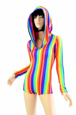 07b530a9294 Rainbow Hoodie Romper – Coquetry Clothing