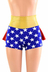Super Hero Ruffle Rump Shorts - Coquetry Clothing