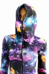 """Don't Bother Me"" Galaxy Catsuit - Coquetry Clothing"