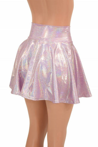 a44cb5dc3 ... Lilac Holographic Mini Rave Skirt - Coquetry Clothing ...