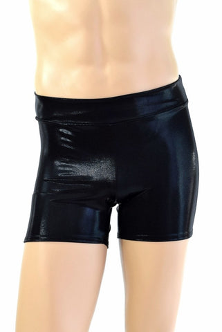 "Mens ""Rio"" Shorts in Black Mystique - Coquetry Clothing"