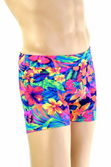 "Mens ""Rio"" Shorts in Tahitian Floral - Coquetry Clothing"