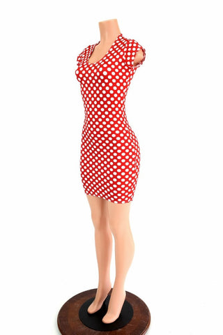 Polka Dot Minnie Dress - Coquetry Clothing