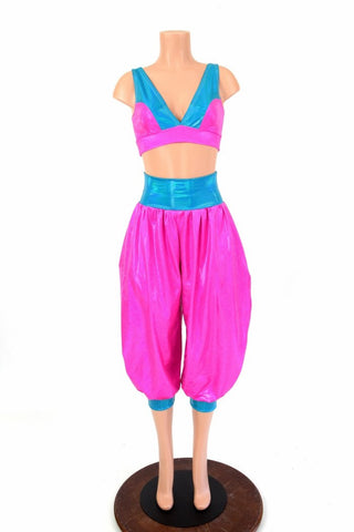 Starlette Bralette & Genie Pants Set - Coquetry Clothing