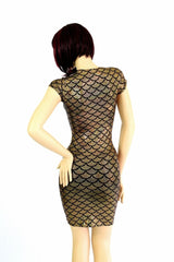 Gold Mermaid Dress - Coquetry Clothing