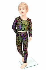 Girls Poisonous Leggings & Top Set - Coquetry Clothing