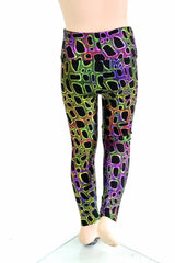 Kids Poisonous Print Leggings - Coquetry Clothing