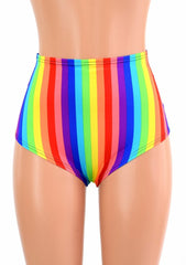 "Rainbow ""Siren"" Shorts - Coquetry Clothing"
