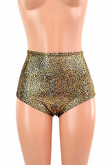 "High Waist ""Siren"" Hot Pants - Coquetry Clothing"