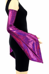 Fuchsia Pixie Arm Warmer Sleeves - Coquetry Clothing