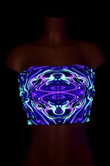 Neon Melt UV Tube Top - Coquetry Clothing
